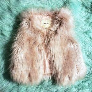 Adorable Faux Fur Vest